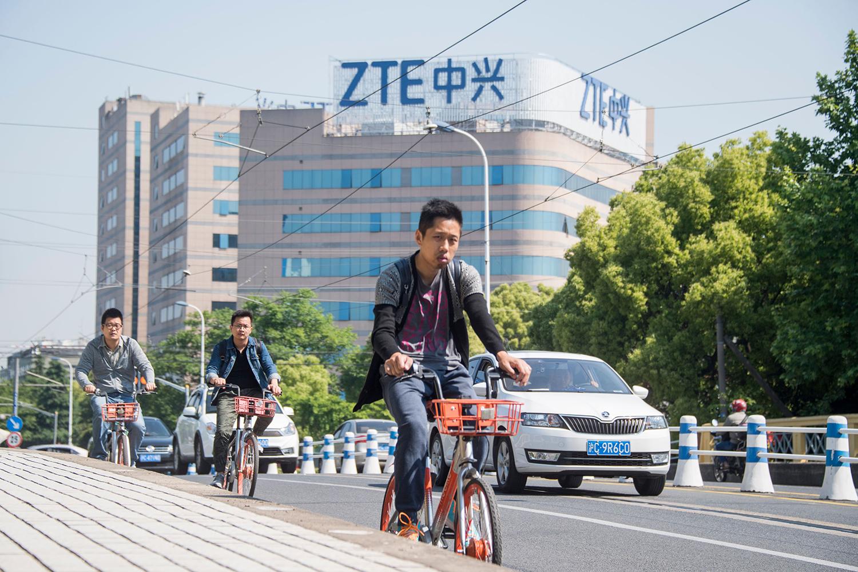 ZTE - העתיד לא נראה מבטיח | תמונה: Johannes Eisele/AFP/Getty Images